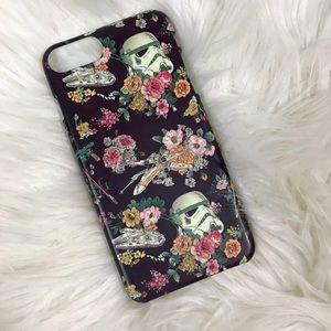 Floral Star Wars/ stormtrooper case iPhone 7/8+
